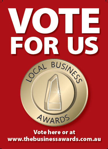 Vote For Us! Local Business Awards